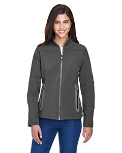 Ladies Three-Layer Fleece Bonded Soft Shell Technical Jacket-
