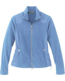 Ladies Recycled Polyester Fleece Full-Zip Jacket-