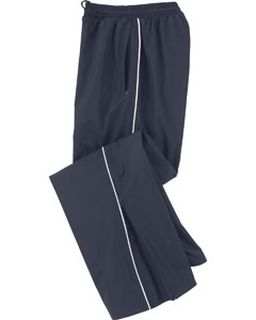 Ladies Woven Twill Athletic Pants-
