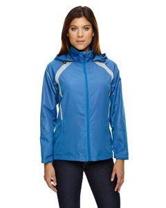 Ladies Sirius Lightweight Jacket With Embossed Print