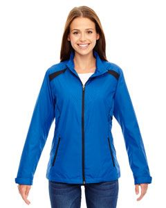 Ladies Tempo Lightweight Recycled Polyester Jacket With Embossed Print-
