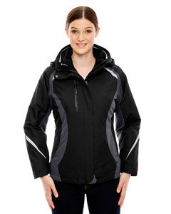 Ladies Height 3-In-1 Jacket With Insulated Liner-