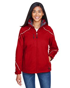 Ladies Angle 3-In-1 Jacket With Bonded Fleece Liner-