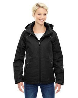 Ladies Linear Insulated Jacket With Print-