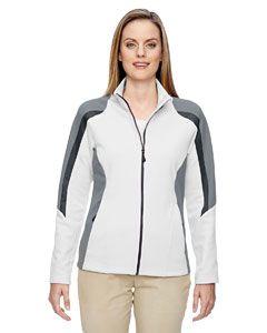 Ladies Strike Colorblock Fleece Jacket-North End
