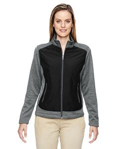 Ladies Victory Hybrid Performance Fleece Jacket-