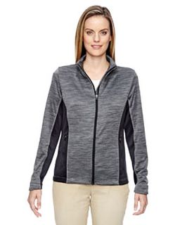 Ladies Shuffle Performance Melange Interlock Jacket-North End