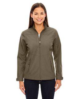 Ladies Forecast Three-Layer Light Bonded Travel Soft Shell Jacket-