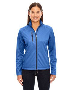 Ladies Trace Printed Fleece Jacket-