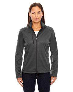 Ladies Trace Printed Fleece Jacket-