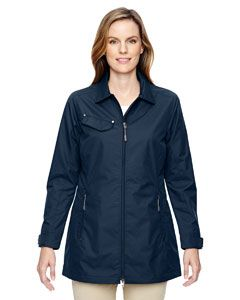 Ladies Excursion Ambassador Lightweight Jacket With Fold Down Collar-