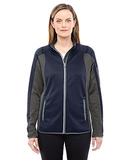 Ladies Motion Interactive Colorblock Performance Fleece Jacket-