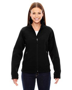 Ladies Three-Layer Light Bonded Soft Shell Jacket-