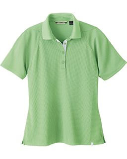Ladies Recycled Polyester Performance Waffle Polo-North End