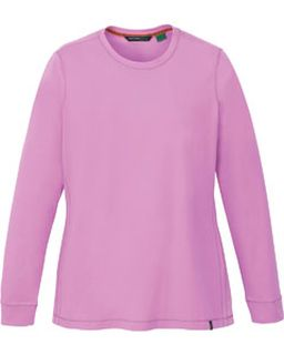 Ladies Organic Cotton Spandex Jersey Long Sleeve Crew-North End