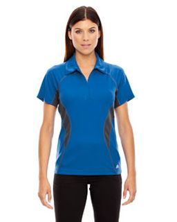 Ladies Serac Utk Cool'Logik� Performance Zippered Polo-