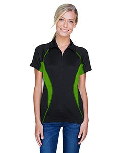 Ladies Serac Utk Cool'Logik™ Performance Zippered Polo-