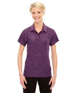 Ladies Barcode Performance Stretch Polo-
