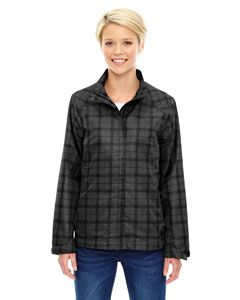 Ladies Locale Lightweight City Plaid Jacket-