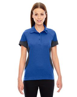 Ladies Refresh Utk Coollogik™ Coffee Performance Melange Jersey Polo-