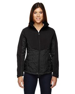 Ladies Innovate Insulated Hybrid Soft Shell Jacket-North End