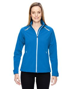 Ladies Excursion Soft Shell Jacket With Laser Stitch Accents-