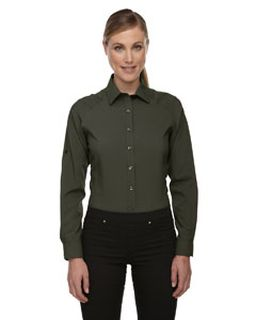 Ladies Rejuvenate Performance Shirt With Roll-Up Sleeves-
