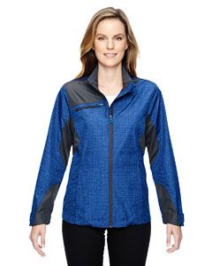 Ladies Sprint Interactive Printed Lightweight jacket-North End