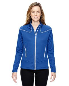 Ladies Cadence Interactive Two-Tone Brush Back Jacket-