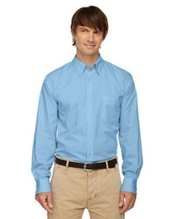 Mens Yarn-Dyed Wrinkle-Resistant Dobby Shirt-
