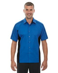 Mens Tall Fuse Colorblock Twill Shirt-