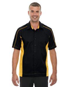 Mens Tall Fuse Colorblock Twill Shirt-