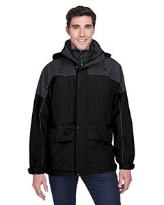 Adult 3-In-1 Two-Tone Parka-