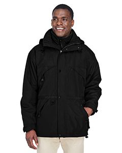 Adult 3-In-1 Parka With Dobby Trim-North End