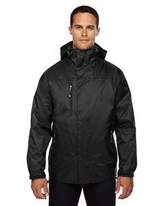 Adult Performance 3-In-1 Seam-Sealed Hooded Jacket-