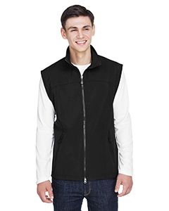 Mens Three-Layer Light Bonded Performance Soft Shell Vest-