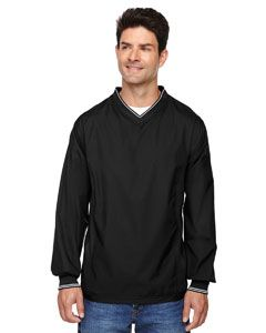 Adult V-Neck Unlined Wind Shirt-