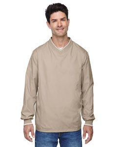 Adult V-Neck Unlined Wind Shirt-