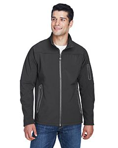 Mens Three-Layer Fleece Bonded Soft Shell Technical Jacket-