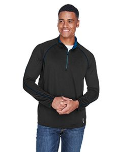 Mens Radar Quarter-Zip Performance Long-Sleeve Top-
