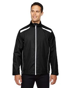 Mens Tempo Lightweight Recycled Polyester Jacket With Embossed Print-North End