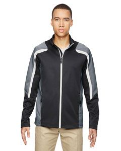 Mens Strike Colorblock Fleece Jacket-