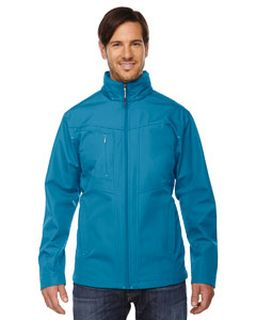 Mens Forecast Three-Layer Light Bonded Travel Soft Shell Jacket-