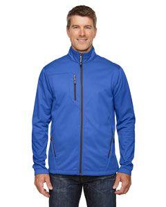 Mens Trace Printed Fleece Jacket-