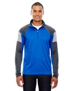 Mens Quick Performance Interlock Quarter-Zip-