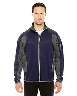 Mens Motion Interactive Colorblock Performance Fleece Jacket-