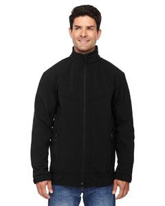 Mens Three-Layer Light Bonded Soft Shell Jacket-