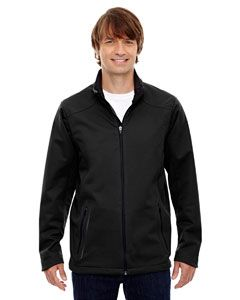 Mens Splice Three-Layer Light Bonded Soft Shell Jacket With Laser Welding-