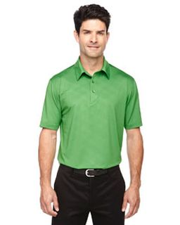 Mens Maze Performance Stretch Embossed Print Polo-