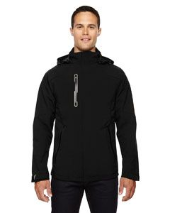 Mens Axis Soft Shell Jacket With Print Graphic Accents-North End